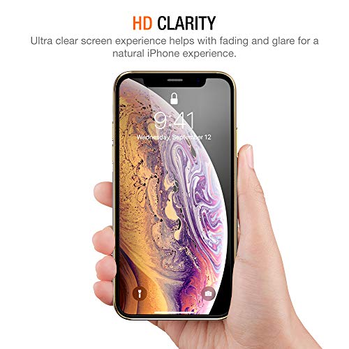 Trianium (3 Packs) Screen Protector Designed for Apple iPhone 11 Pro Max, iPhone XS Max (6.5″ 2018) Premium HD Clarity 0.25mm Tempered Glass Screen Protector w/Compatible Installation Alignment Case