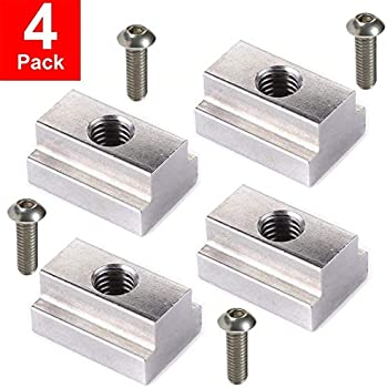 Pack of 5 Forged Steel, T-Slot Bolt 3//4-10 x 8 Shaft Length