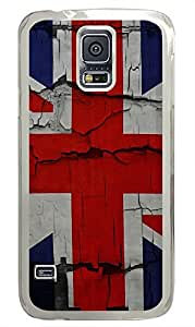 underwater Samsung Galaxy S5 cases United Kingdom Flags PC Transparent Custom Samsung Galaxy S5 Case Cover