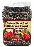 Nelson Hibiscus and Flowering Tropicals in Ground Container Indoor Outdoor Granular Fertilizer NutriStar (2 LB)