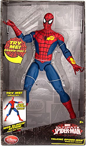 Disney Ultimate Spider-Man Talking Spider-Man Exclusive 14