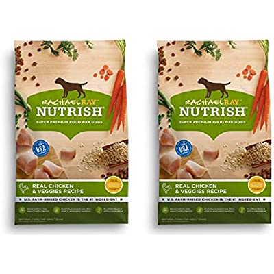Rachael Ray Nutrish Natural Dry Dog Food (2 Pack, Natural - Real Chicken & Veggies)