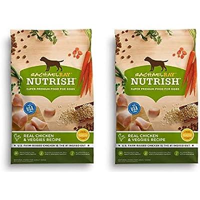 Rachael Ray Nutrish Natural Dry Dog Food (2 Pack, Natural - Real Chicken & Veggies)
