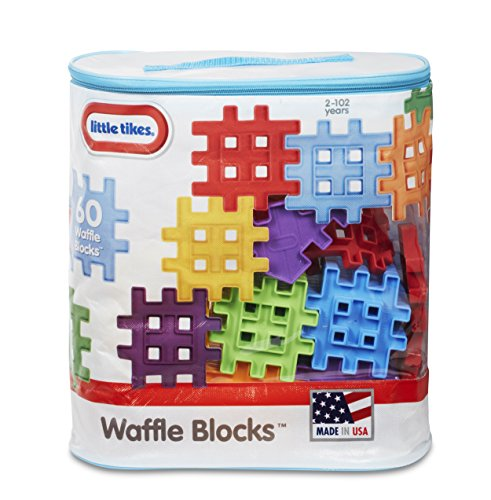 - Little Tikes Waffle Blocks Bag (60 Piece)