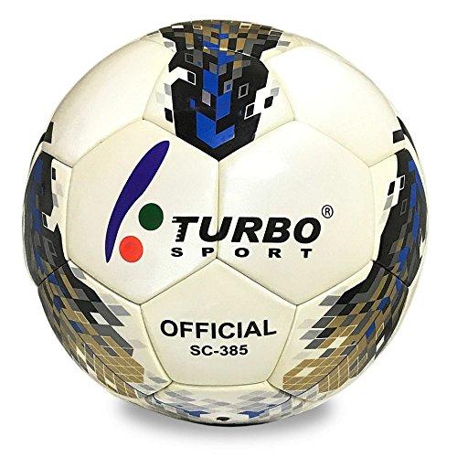 Turbo Sport sc-385 Balón de Fútbol Oficial Tamaño 5 Piel sintética EVA Funda: Amazon.es: Deportes y aire libre