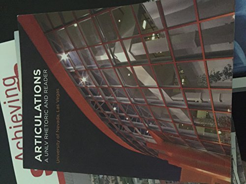 articulations a unlv rhetoric and reader 2nd edition pdf