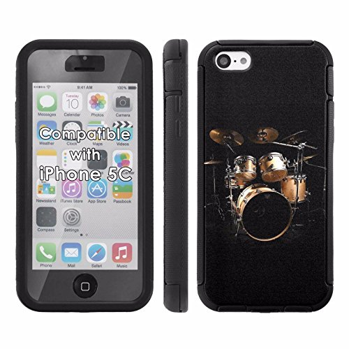 Price comparison product image Mobiflare,  Total Ballistic Jacket Phone Case,  for [iPhone 5C] - Gold Drum Set
