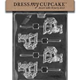 Dress My Cupcake Chocolate Candy Mold, Carousel Horse Lollipop