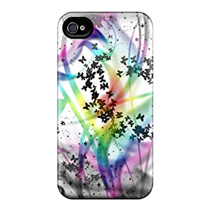 PHN34762qvTG Anti-scratch Cases Covers MichelleCumbers Protective Black White Rainbow Cases For Iphone 6