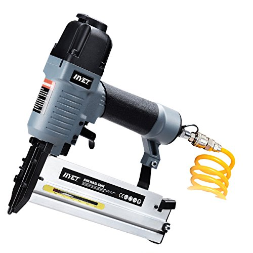 Goplus 18 Gauge 2-in-1 Air Brad Nailer Pneumatic Narrow Crown Stapler w/Carrying Case and Safety Glasses by Goplus (Image #7)