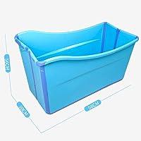 Baignoires Grande baignoire pliable Baignoire Baignoire for enfants adultes Baignoire portative en plastique for eau chaude, glace Eau chaude Intérieur Extérieur Maison SPA Trempage