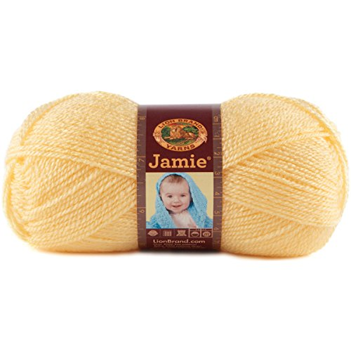 Lion Brand Yarn 881-157 Jamie Yarn, Sunshine
