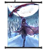 Home Decor Trendy Handsome Anime Art Cosplay Poster with Ruby Rose Rwby Anime (1) Wall Scroll Poster Fabric Painting 24 X 36 Inch (60cm X 90 cm)