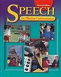 Speech for Effective Communication, Holt, Rinehart and Winston Staff, 0030520045