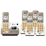 AT&T 5 Handset DECT 6.0 Cordless Phone Bundle with (1) EL52313 Phone System & (2) EL50013 Handsets