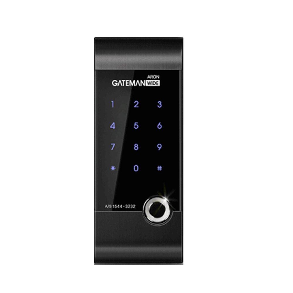 GATEMAN ARON デジタルドアロック+安全キー4個,パスワード、カードキー、電子キー,AA電池(海外直送品) B01HBG4EWK