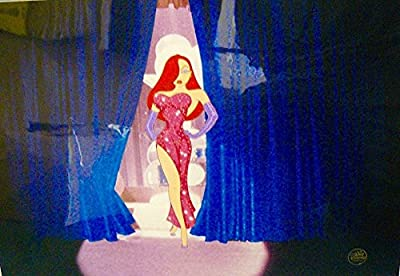 "Disney Cel WHO FRAMED ROGER RABBIT ""Jessica's Debut""Rare Animation Art Cell"