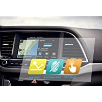Universal Trimmable Screen Protector for all Acura Navigation (3-Pack), Anti-glare and Anti Finger Print, 8 x 7 inches