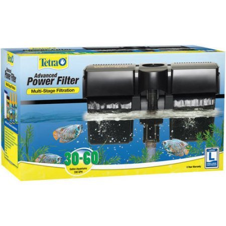 Tetra Whisper Advanced Power Aquarium 30-60 Side Mount Water Filter (Gravel Vacuum For 10 Gallon Tank)