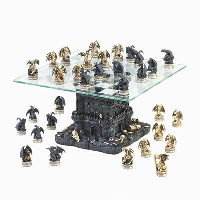 Koehler Home Décor - Ultimate Dragon Chess Set