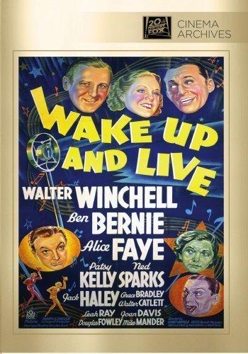Wake Up And Live by Twentieth Century Fox Film Corporation by Sidney Lanfield by Twentieth Century Fox Film Corporation