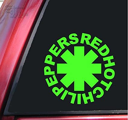 """RED HOT CHILI PEPPERS Graphic Die Cut decal sticker Car Truck Boat Window 6/"""""""