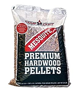 Camp Chef Bag of Premium Hardwood Mesquite Pellets for Smoker, 20 lb. by epic Camp Chef