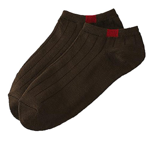 (Cotton Socks,Unisex Candy Color Solid Ankle Stocking Comfortable Slippers Short Leg Warmer (Free Size, Coffee))