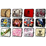 """Many Choices Universal 17"""" 17.1"""" 17.4"""" Laptop Notebook Computer Sleeve Case Bag Cover Pouch For 17.3"""" Acer Aspire,HP Compaq Envy ,Sony VAIO ASUS Toshiba Satellite Dell Inspiron xps ,Macbook Pro (Clock)"""