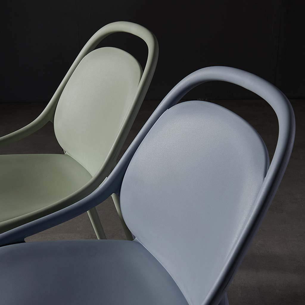 Stolar enkel, tjock plast, skrivbord, smink, ryggstöd, strömlinjeformad design, placerad i vardagsrummet, sovrummet, kontoret, etc. Roscloud@ gRÖN