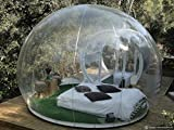 Outdoor Single Tunnel Inflatable Bubble Tent Family C&ing Backyard Transparent  sc 1 st  Amazon.com & Amazon.com: HolleywebTM Inflatable Bubble Tent House Dome Outdoor ...