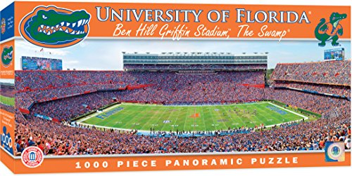 MasterPieces Collegiate Florida Gators 1000 Piece Stadium Panoramic Jigsaw Puzzle