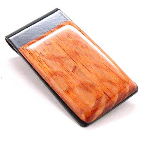 Holder Wealth Clip Hundred Wood Dollar Bill Business Lace Money Gift Moneyclip qSwzF6