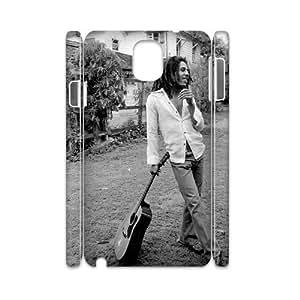 YUAHS(TM) DIY 3D Phone Case for Samsung galaxy note 3 N9000 with Bob Marley YAS137924