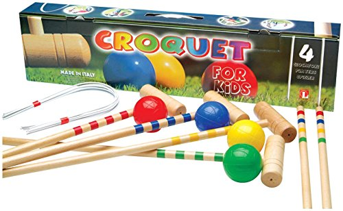 Childrens Croquet Game for 4