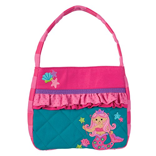 Little Angel Kids Backpack - Stephen Joseph Quilted Purse, Mermaid