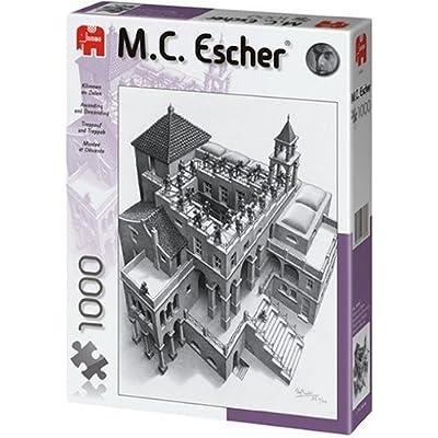 Jumbo 13089 Escher Salire E Scendere Puzzle Da 1000 Pezzi