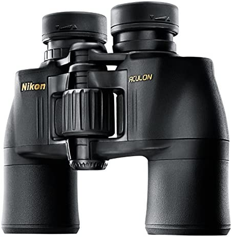 Nikon Aculon A211 10×42 Binoculars, Black, clam Pack 6487