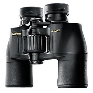 Nikon Aculon A211 10×42 Binoculars, Black, clam Pack (6487)