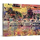 Peter Graham Gallery-Wrapped Canvas entitled Golden Harbour Vista (oil on canvas)
