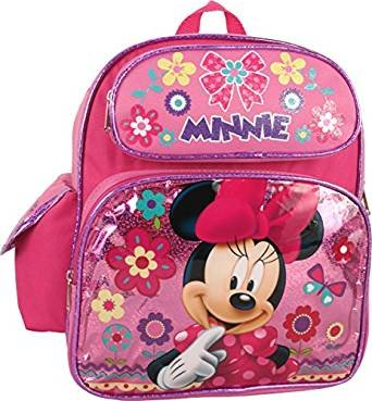 3e1b667b4e5 Image Unavailable. Image not available for. Color  Disney Minnie Mouse  12 quot  Toddler Backpack