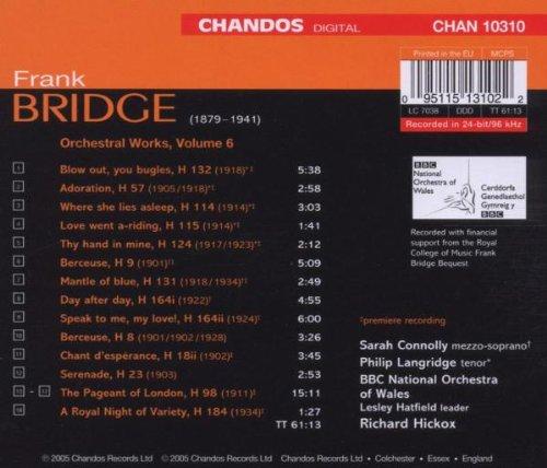 Bridge: Orchestral Works 6 by Chandos