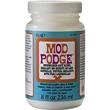 Mod Podge Dishwasher Safe Waterbased Sealer, Glue and Finish (8-Ounce), CS15059 Gloss