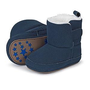 Sterntaler Patucos, Botas para Bebés, Azul (Marine 300), 19/20 EU