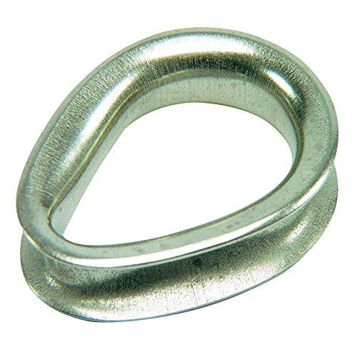 (Ronstan Sailmaker Stainless Steel Thimble - 6mm(1/4