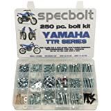 250pc Specbolt Yamaha TTR Bolt Kit for Maintenance Restoration OEM Spec Fasteners TTR50 TTR80 TTR90 TTR110 TTR125 TTR225 TTR250 TTR600 50 80 90 110 125 225 250 600 XT PW