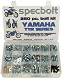 250pc Specbolt Yamaha TTR Bolt Kit for Maintenance Restoration OEM Spec Fasteners TTR50 TTR80 TTR90 TTR110 TTR125 TTR225 TTR250 TTR600 50 80 90 110 125 225 250 600 XT PW