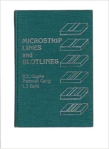 Microstrip Lines And Slotlines Third Edition Pdf