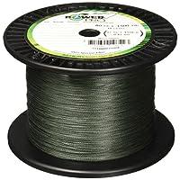 Línea de pesca trenzada de fibra Power Pro Spectra, Moss Green, 300YD /30LB