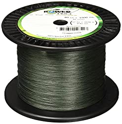 Power Pro Spectra Fiber Braided Fishing Line, Moss Green, 150yd30lb